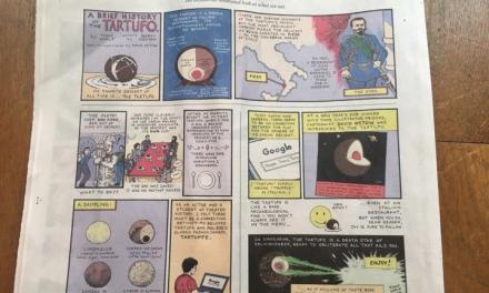 Il tartufo di Pizzo sul New York Times