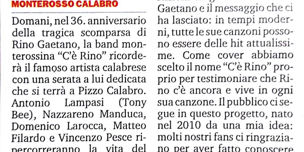 Il sound di Rino Gaetano rivive in un giorno speciale