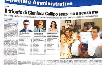 Il trionfo di Gianluca Callipo senza se e senza ma