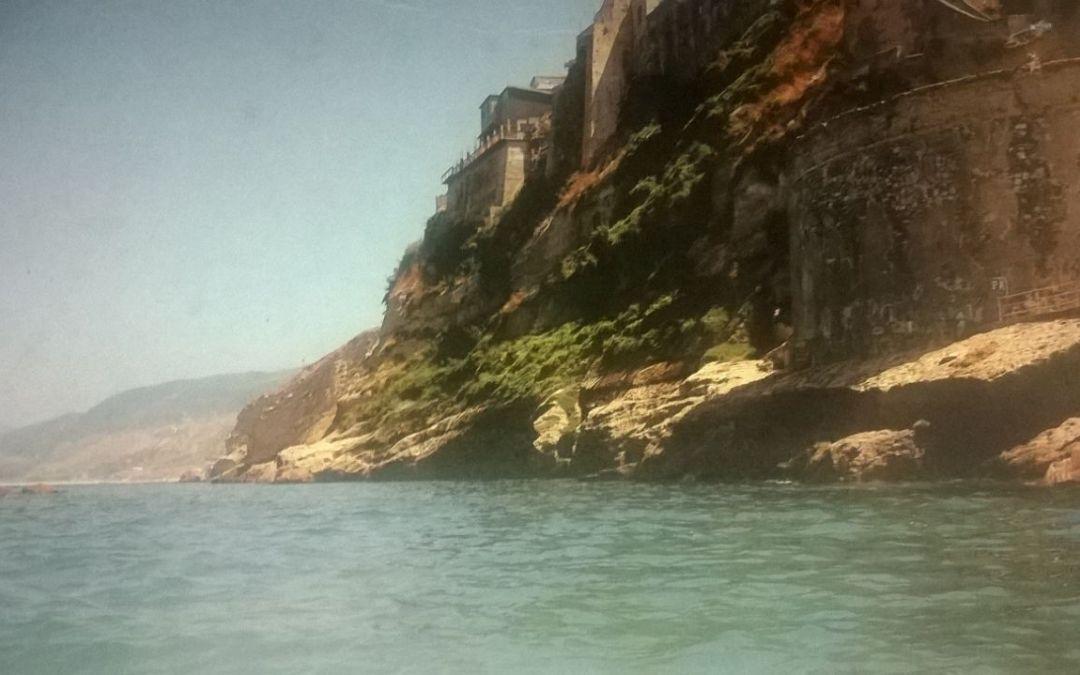 Costiera Napitina. I Vaschi negli anni 60. Foto di Franco Cortese