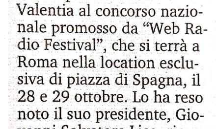 """Radio """"No stop"""" al web festival"""