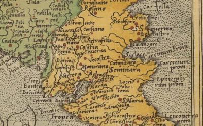 """1579 – """"Itininerarium orbis christiani"""" (Michael Freiherr Von Aitzing – Colonia)"""