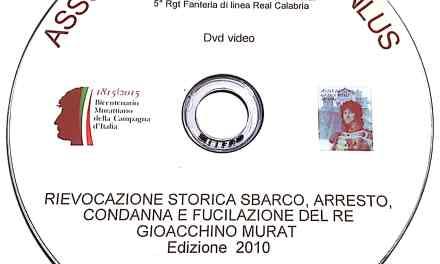 DVD Rievocazione storica sbarco, arresto, condanna e fucilazione del Re Gioacchino Murat