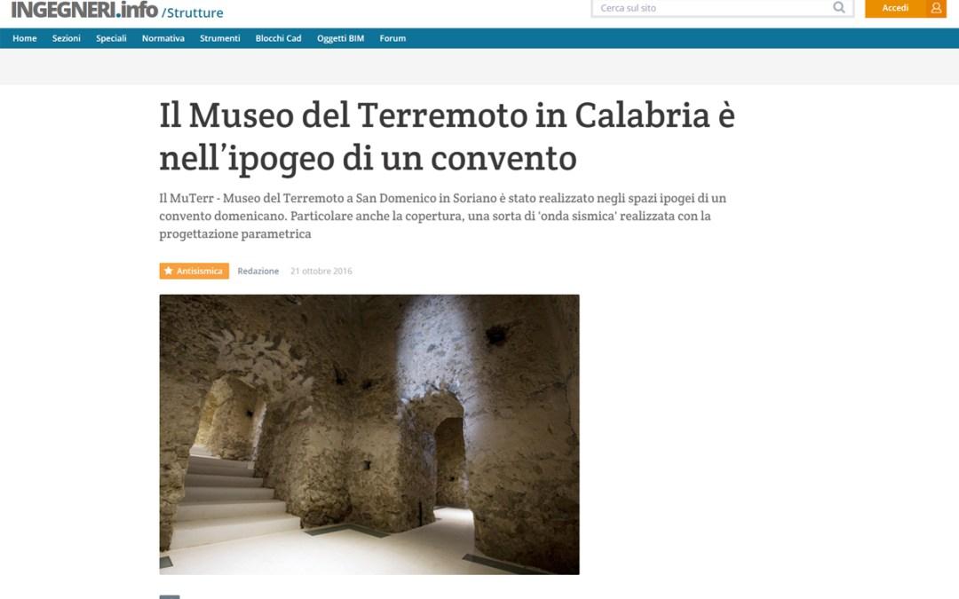 Riflettori sul museo del terremoto Arriva un contributo di 20.000 euro