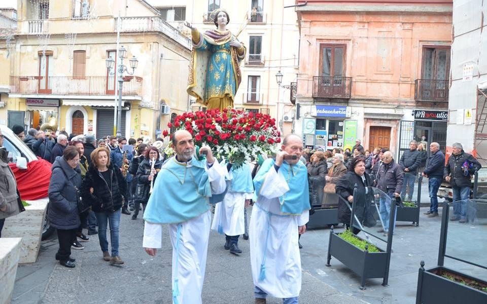 Pizzo processione di S.Lucia Vergine e martire (foto di A.Teti)