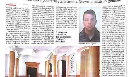 Figliuzzi racconta la guerra di mafia