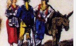 Come vestivano i Pizzitani nei secoli 700/800?