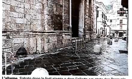 Duomo di San Giorgio Al via la messa in sicurezza (Gazzetta del Sud del 28/2/2018)