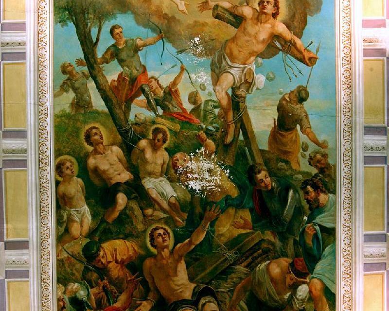 Zimatore C. – Grillo D. (1917), Martirio dei Santi Cosimo e Damiano