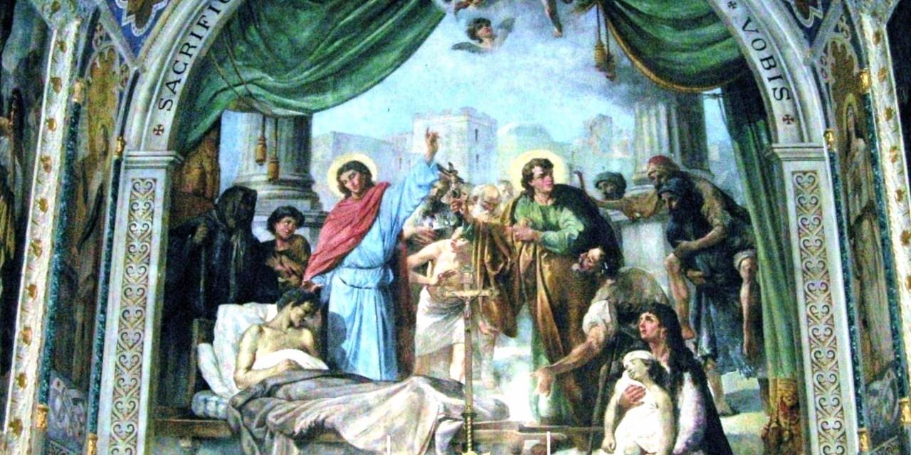 Il ciclo pittorico del Santuario dei Santi Cosma e Damiano a Riace