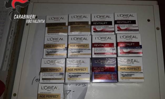 Ruba costosi cosmetici in un supermercato di Pizzo, arrestata 35enne