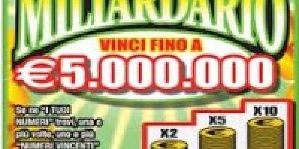 Vinti 500.000 euro al Gratta e Vinci