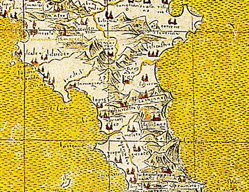 Calabria Antica del 1492