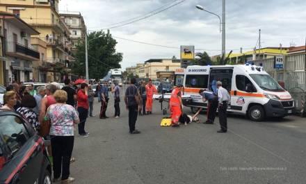 Auto travolge pedone a Pizzo, ferita una sessantenne