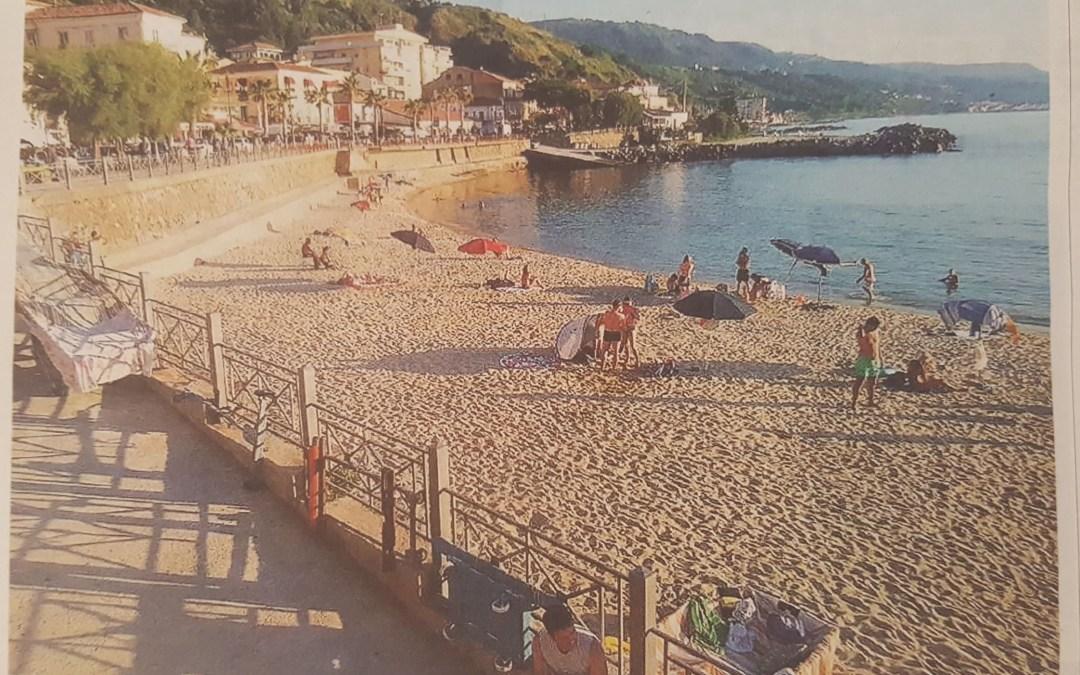 Rimessa a nuovo la spiaggia. Ma i lavori estivi non piacciono