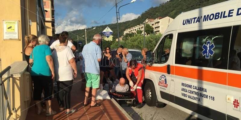Incidente a Pizzo, anziano investito da un'auto su via Nazionale