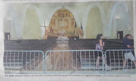 Natuzza, la chiesa ancora chiusa