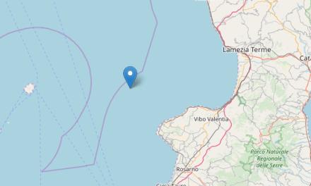 Scossa di terremoto 2.8 a largo della costa tirrenica vibonese – Zoom24