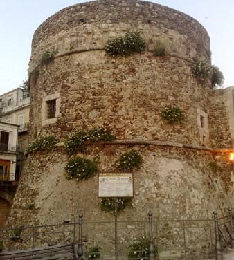 19 Giugno 2009 – Le piante di capperi del Castello di Pizzo Foto di Giuseppe PAGNOTTA