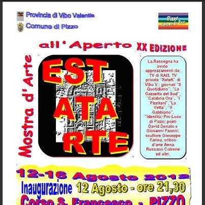 ESTATARTE 2012. INVITI E BROSCHURE