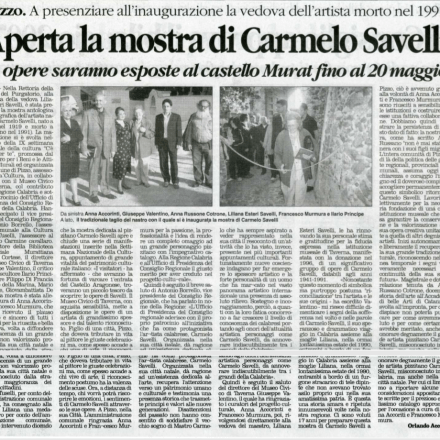 CARMELO SAVELLI
