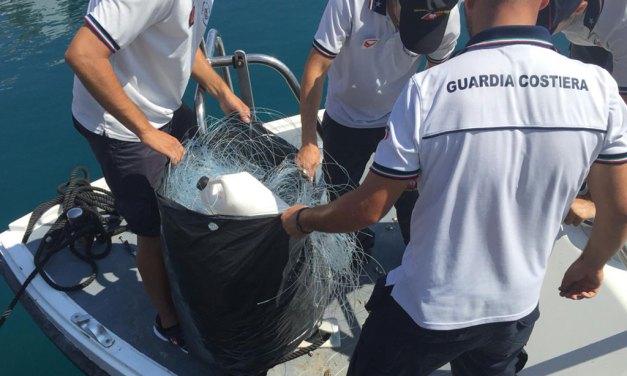 Pesca illegale: palangaro di 4 chilometri sequestrato a Vibo Marina
