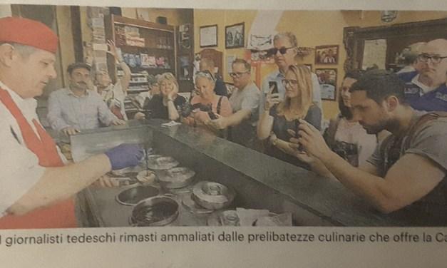I gelati del Bar Ercole parlano tedesco.