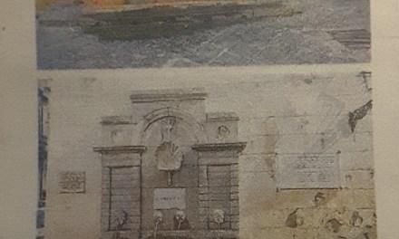 Ripulite le storiche fontane del centro