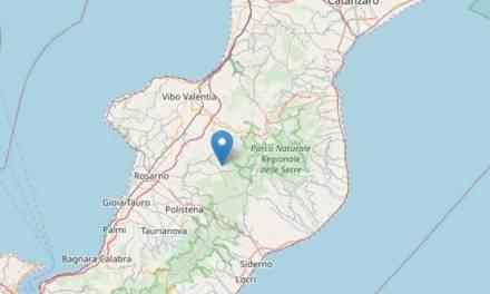 Terremoto di magnitudo 2.5 nell'entroterra vibonese