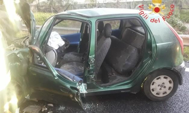Lamezia, incidente su autostrada per Pizzo: un ferito