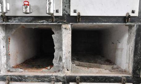 Sette bare con le spoglie sparite dal cimitero di Vibo Valentia – Calabria