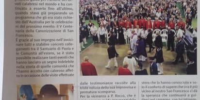 La Festa di San Francesco di Paola di Melbourne
