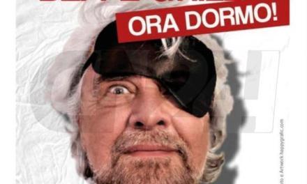 Insomnia Beppe Grillo. Ora dormo!