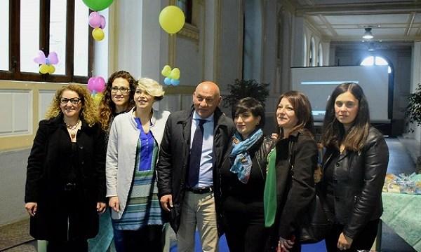 Il Volo delle farfalle': a Palazzo San Giorgio con i genitori dei bimbi autistici