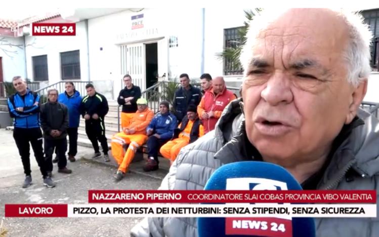 Rifiuti a Pizzo, la disperazione degli operai da mesi senza stipendio – Video