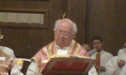 29/6/2014 DON ANTONIO GACCETTA – La sua ultima Messa da Parroco [anche i sacerdoti vanno in pensione]