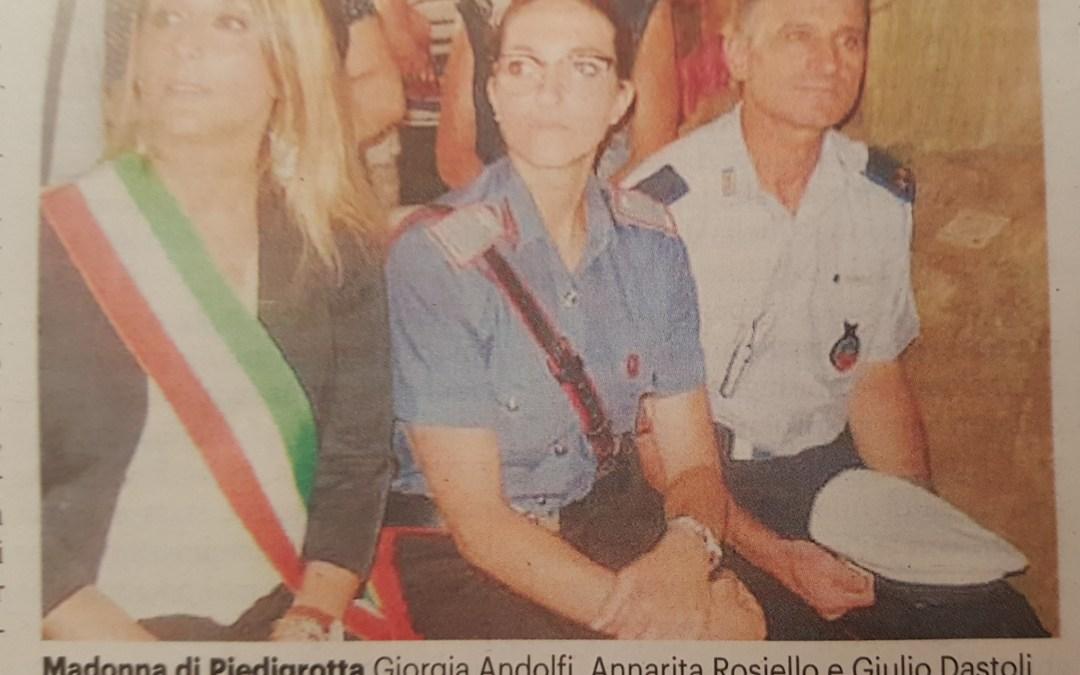 Pizzo, guida rosa alla Stazione dei Carabinieri