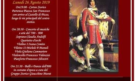 CORTEO STORICO MURATTIANO DEL 26/8/2019