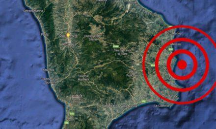 Trema la Calabria, scossa di terremoto di magnitudo 3.7