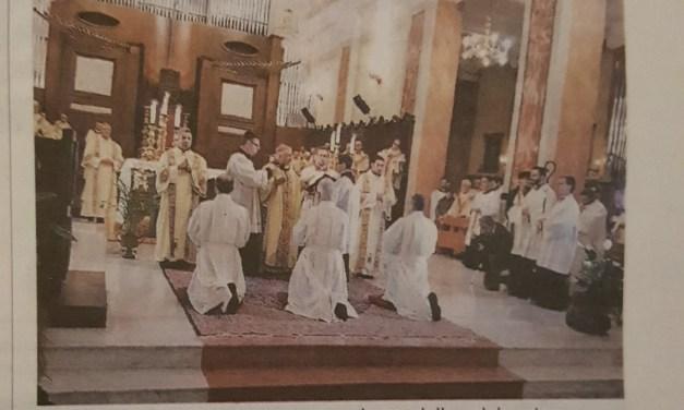"""Ordinati nuovi diaconi """"Portatori di carita'"""""""