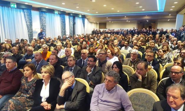 Regionali, centrodestra compatto a Vibo: bagno di folla per la Santelli