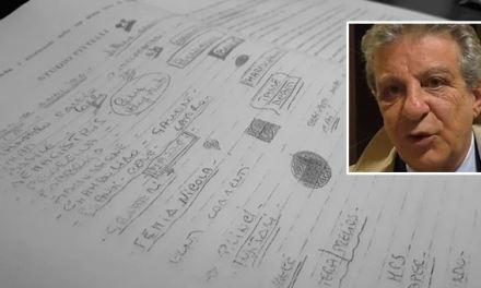 Rinascita Scott e il manoscritto di Giancarlo Pittelli: «Sapevo di dover essere arrestato»