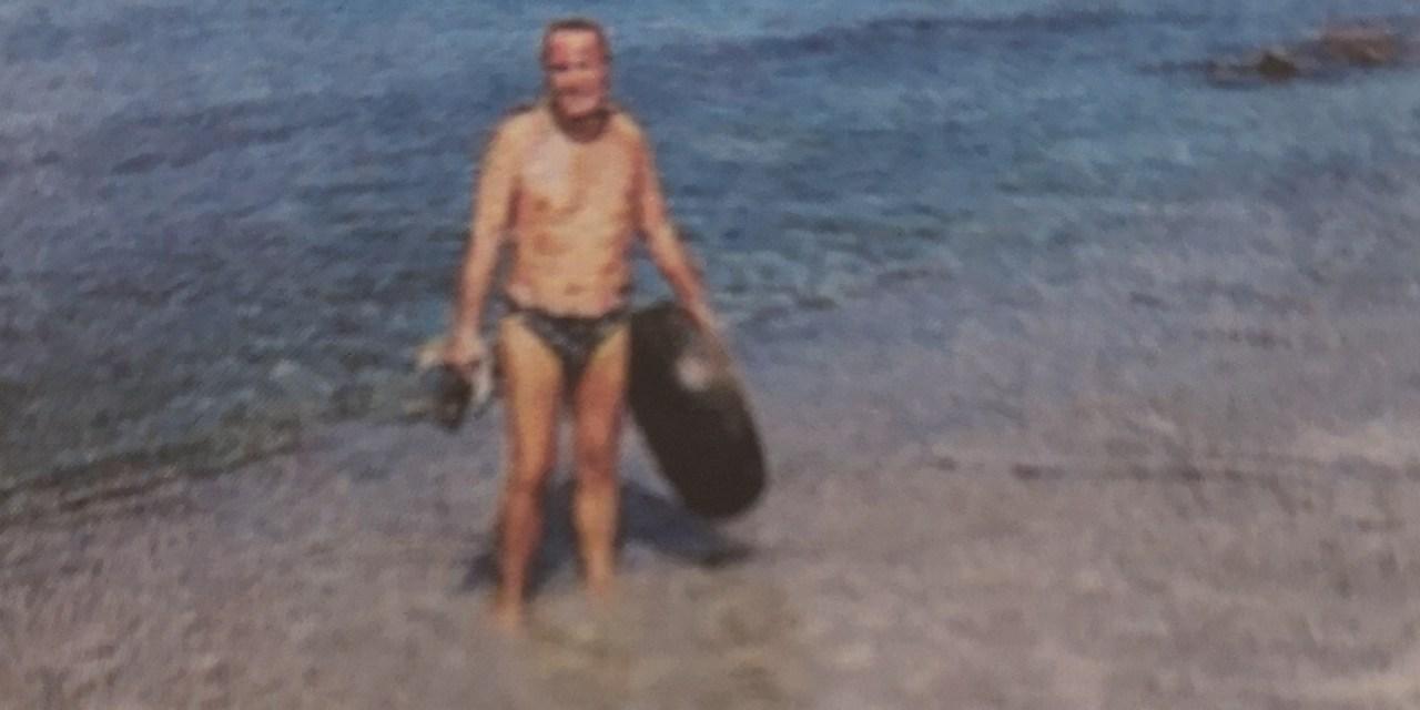 A pulire il mare ci pensa Rocco Greco