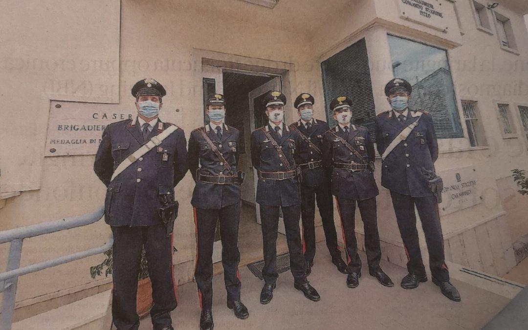 Pizzo 5/11/2020. Carabinieri sentinelle di legalita' nella lotta al crimine organizzato