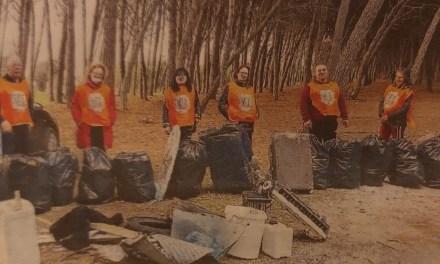 """I volontari diventano gli 'angeli"""" della pineta"""