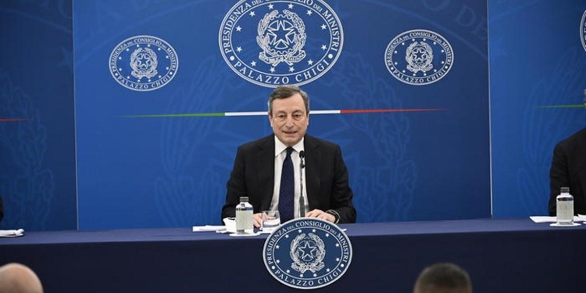 08/04/21. Vaccini, Draghi: «Con che coscienza si saltano le liste?». Sulle riaperture: «2 giugno? Anche prima»
