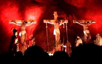 VIA CRUCIS VIVENTE DEL 2001