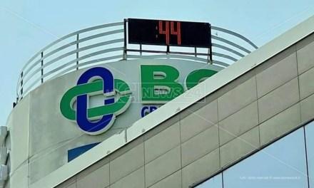 Caldo record in Calabria: ovunque temperature oltre i 40 gradi, Cosenza tocca i 44