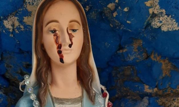 San Gregorio d'Ippona, il liquido trovato sulla statua della Madonna non è sangue