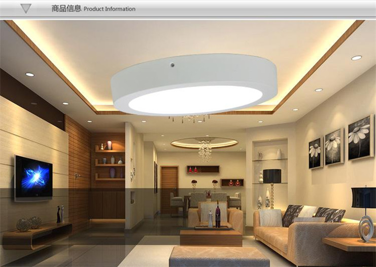 12w Round Surface Mount Led Downlight P Amp J Lighting Co